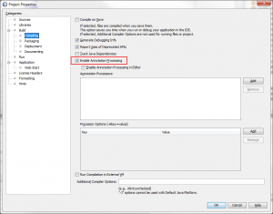 Enable Lombok Annotation Processing in Netbeans